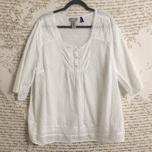Catherines Embroidered Tunic Petite
